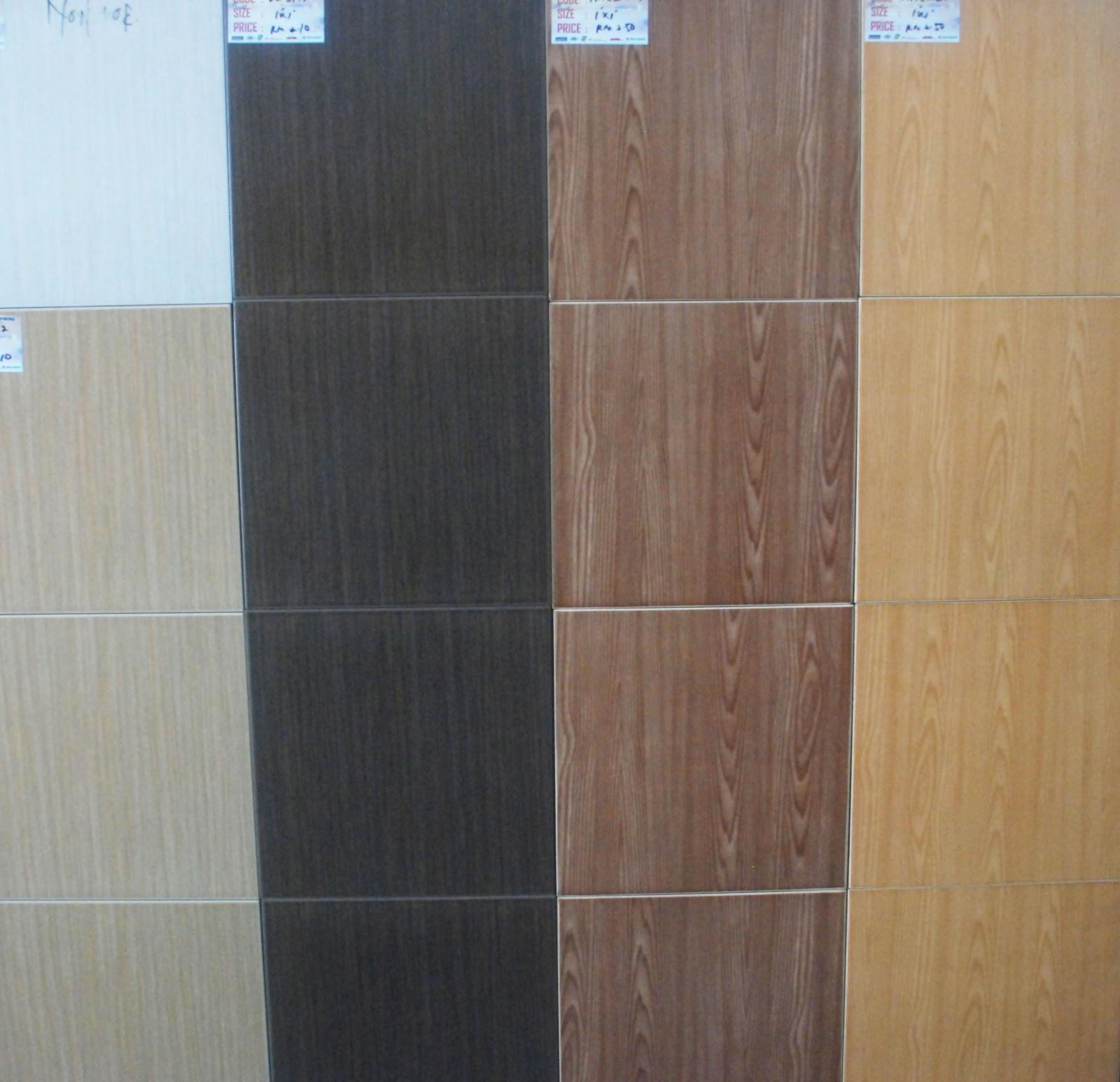 jualan produk jubin size 1 x 1 jernih tiling iv enterprise