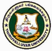 Thiruvalluvar University Exam Time Table 2015