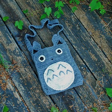 free crochet pattern totoro tote