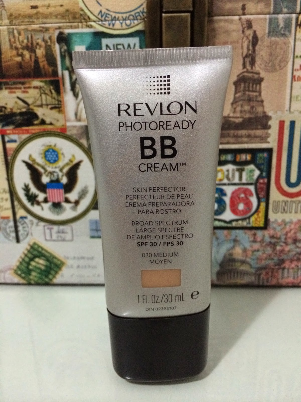 BB Cream, photoready, Revlon, SPF 30, 030, medium