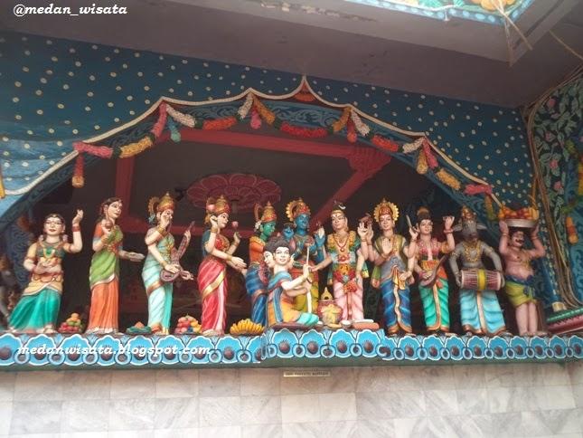 Kuil Shri Mariamman Kuil Hindu Tertua di Medan