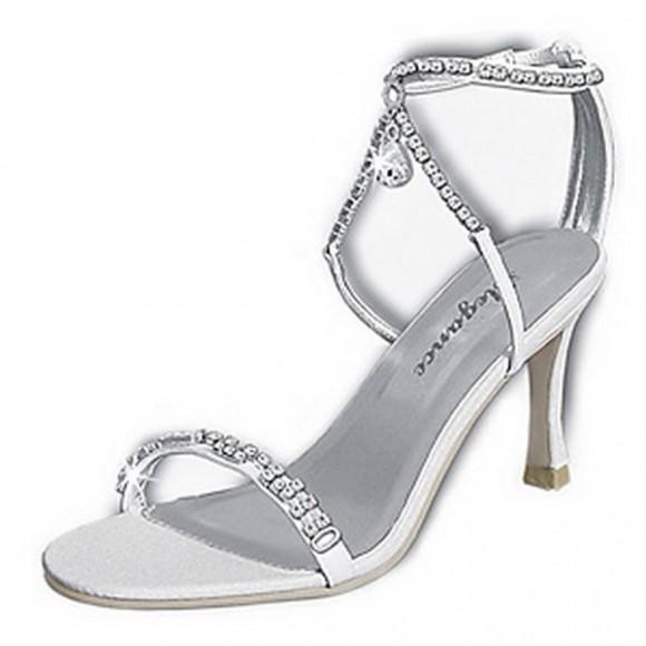 Kardashian High End Silver Bridal New Shoes
