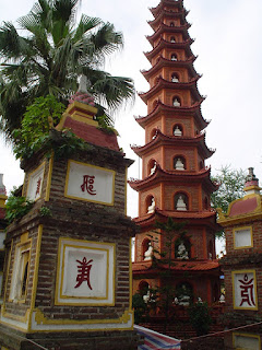 Pagoda de Tran Quoc en Hanoi