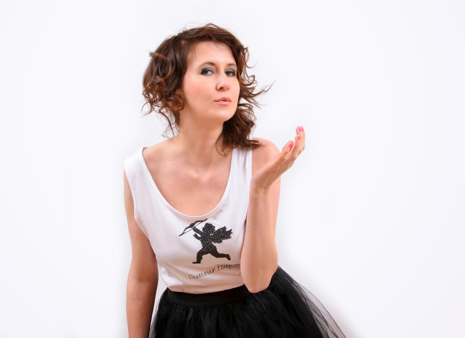t-shirt Isa Flower nadruk