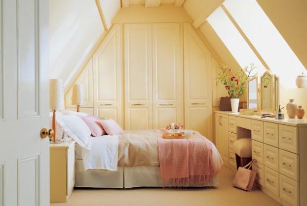 361 غرف نوم الوان فاتحة ومريحة بالصور