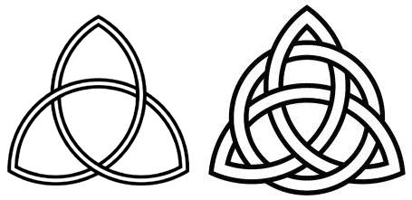 H raldie h raldique et symboles le trisk le - Symbole celtique signification ...