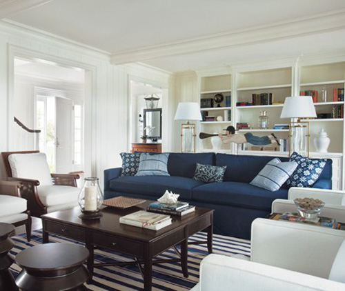 Belle maison design style inspiration coastal chic for New england style living room ideas