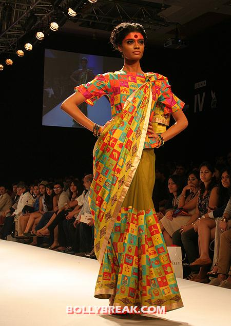 A Deepika Govind creation -  Deepika Govind Fashion Show