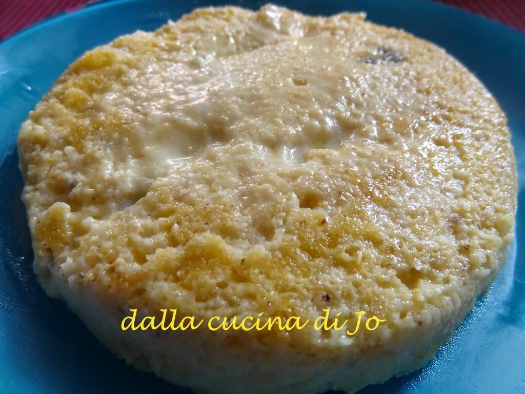 polenta e gorgonzola al salto
