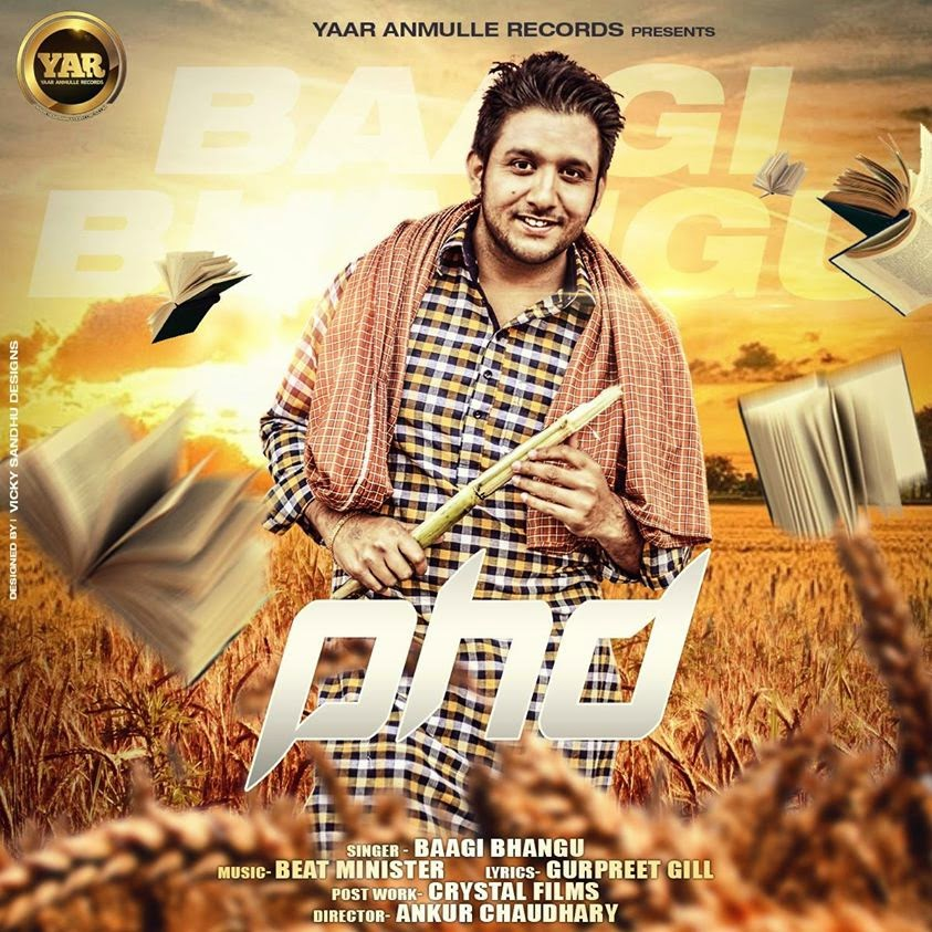p h d mp3 download, lyrics & hd video  baagi bhangu