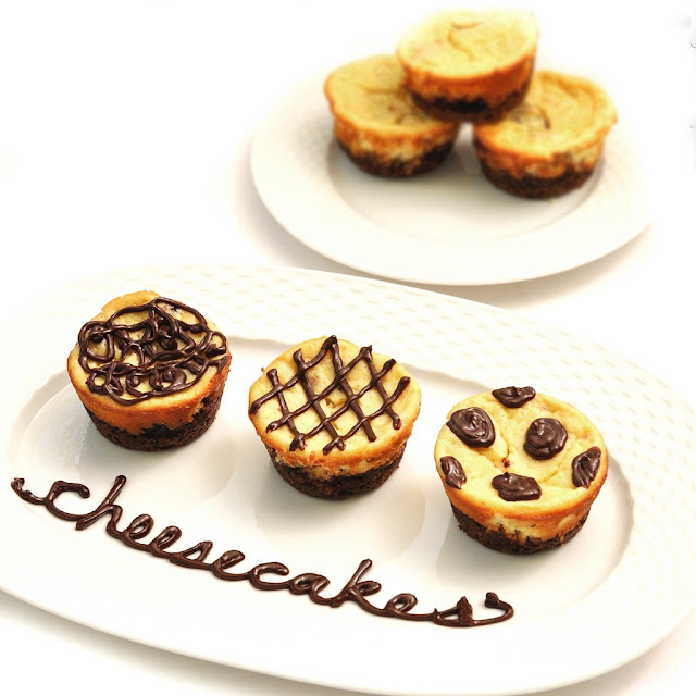 cheesecake cupcake trio+%25281%2529 Returning Home and a Cheesecake Recipe!