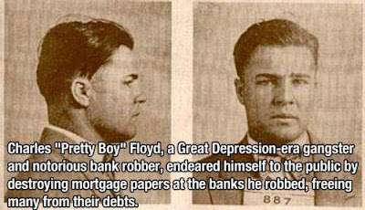 ONE OF THE DEPRESSION-ERA GANGSTERS IS ONE OF THE MOST POPULAR FIGURES IN AMERICAN HISTORY