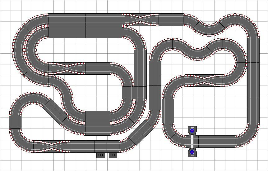 Mis circuitos de slot la mayor colecci n de dise os de scalextric del mundo n 962 gran - Decoracion scalextric ...