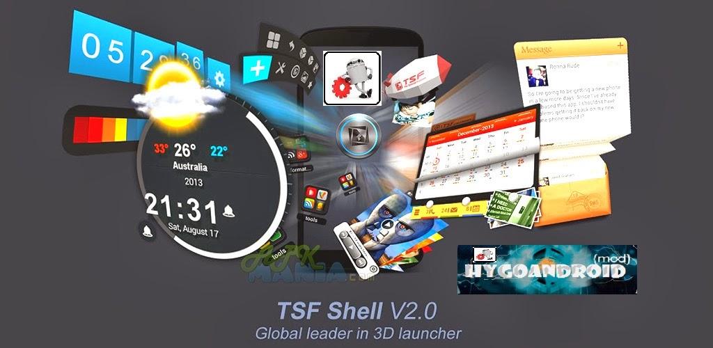 TSF Launcher 3D Shell v3.5.2 APK