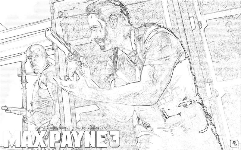 printable-max-payne-3-character_coloring-pages
