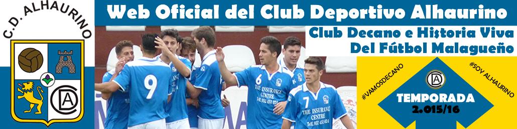 Web Oficial del Club Deportivo Alhaurino (www.clubdeportivoalhaurino.com)