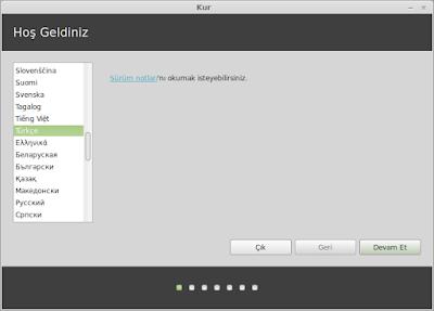 Linux Mint Kurulumu