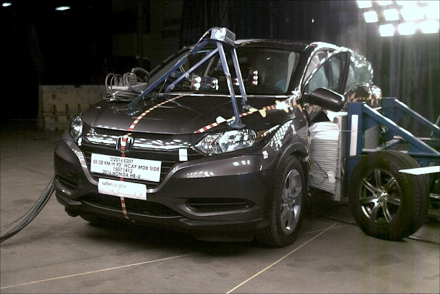 Honda HR-V - crash test