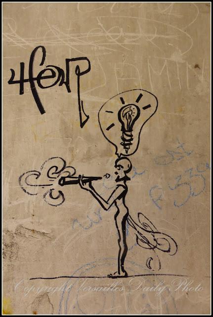 Graffiti Parc du Cénacle Versailles