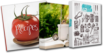 Beautiful Recipe Binders
