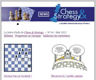 La Newsletter mensuelle de Chess & Strategy