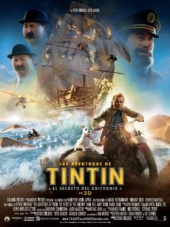 Las aventuras de Tintín: El secreto del unicornio (2011) [DVDRip] [Latino]