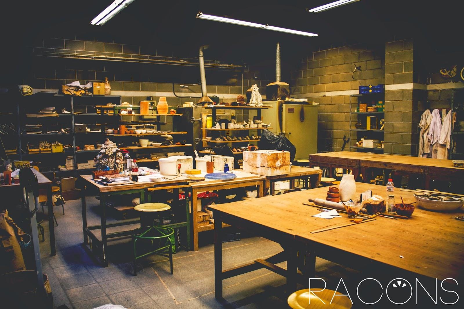 taller escultura centre cultural la mercè