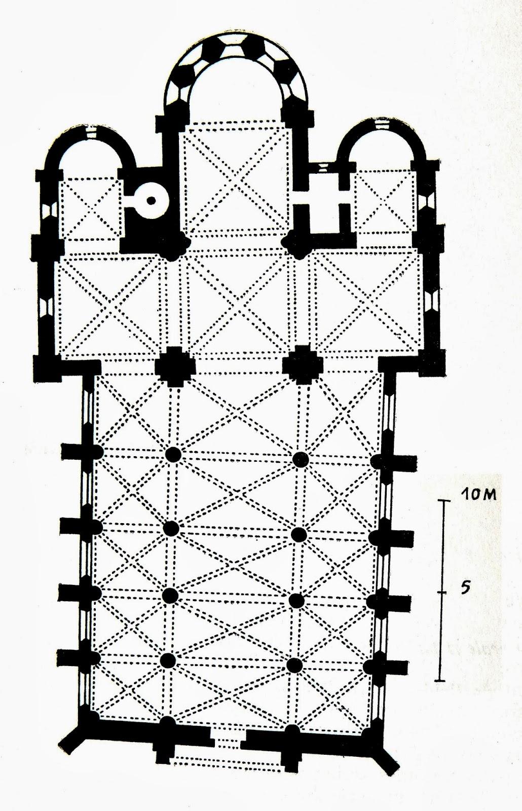 RELANGES (88) - Plan de l'Eglise Notre-Dame