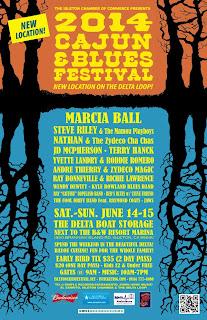 2014 Cajun & Blues Festival