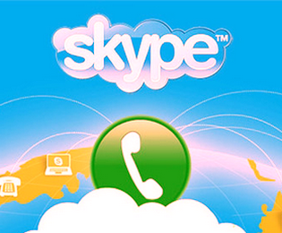 Add Skype Contact widget in blogger blog