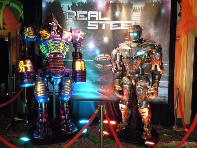 Real Steel Animatronic robots El Capitan