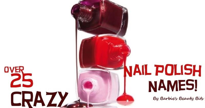 25 Crazy Awesome Home Staircase Designs: 25 Crazy Nail Polish Names