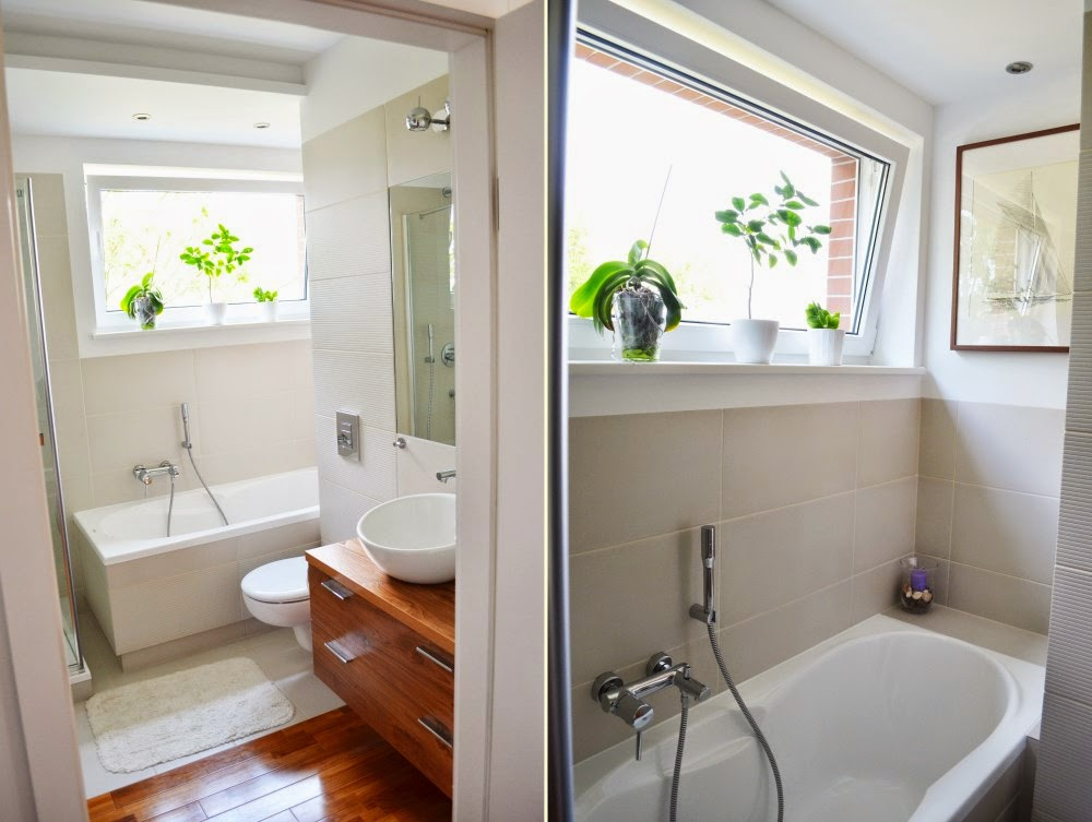 łazienka, drewno w łazience, teak