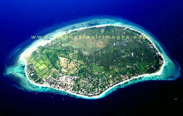 The exotic Gili island of Lombok