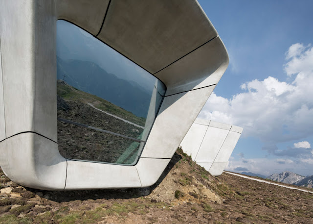 Messner Museum am Kronplatz - aufregende Architektur in Südtirol