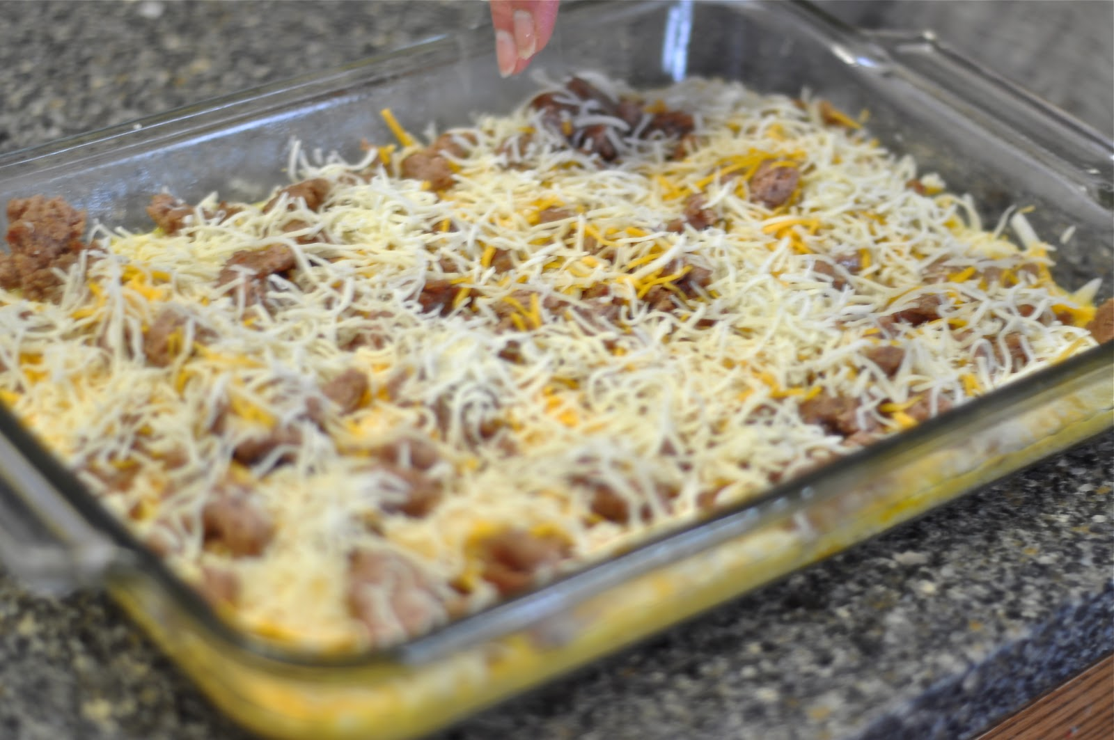 ... Cooking Adventures: Hash brown, Egg and Sausage Breakfast Casserole