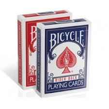 How magicians hold a deck of Bicycle Playing Cards
