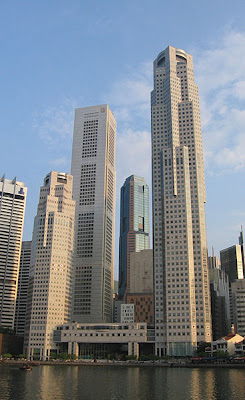 UOB Plaza Towers, OUB Centre and Republic Plaza