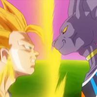Dragon Ball Z - Battle of Gods: Gokuh SS3 vs Bills