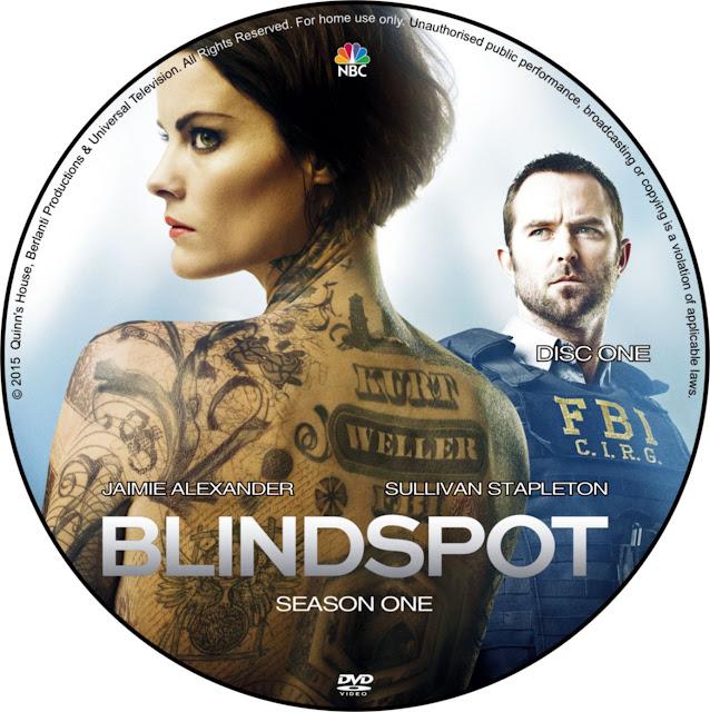 Label DVD Blindspot Season One