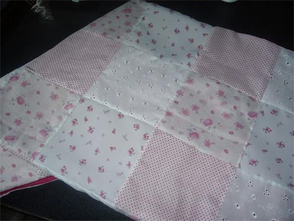 Acolchado de patchwork para olivia for Moises bebe ikea