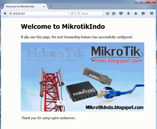 Tutorial Port Forwarding Mikrotik untuk Akses HTTP, RDP & VNC – Pusat Pengetahuan