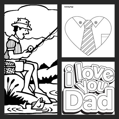 templates for father's day activities