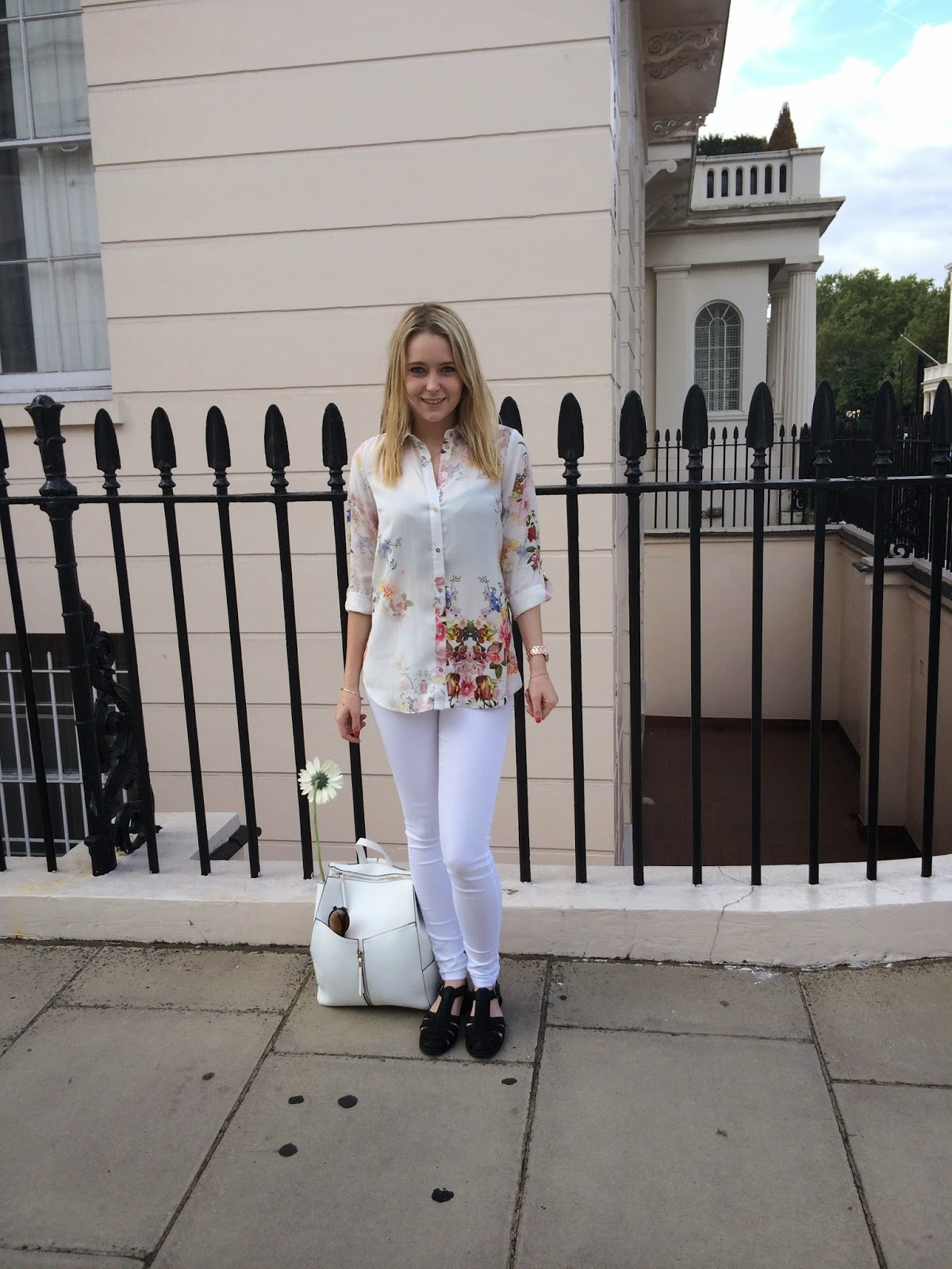 Florals In Knightsbridge on Lrsmth-Fashion fashion blog