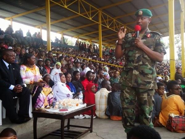 Brig.Gen. Emmanuel Ruvusha mu nama y'umutekano i Musanze