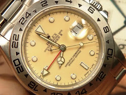Rolex Explorer II Ref. 16550 with Broken White Dial