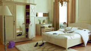 bedroom in shades of beige