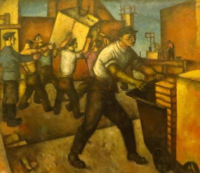 Теофил Фраерман, Ударная бригада. Строители, конец 1920-х