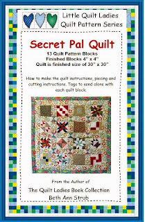 secret pal quilt pattern book