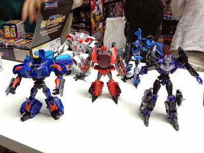 Transformers Prime wave 3 Vehicon, Hotshot, Knock Out, Ratchet, Arcee